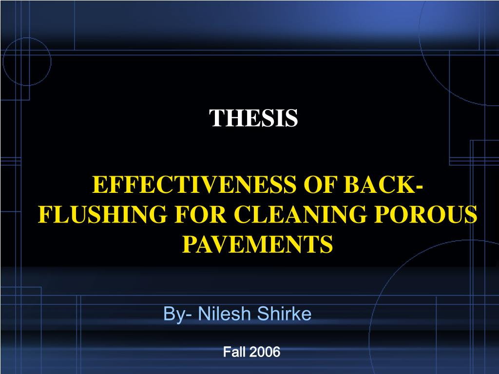 thesis l.