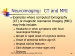 neuroimaging ct and mri