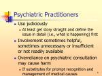 psychiatric practitioners