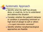 systematic approach95