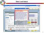 data load status6