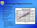 hydrologic regional curves