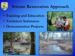 stream restoration approach