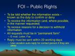 foi public rights