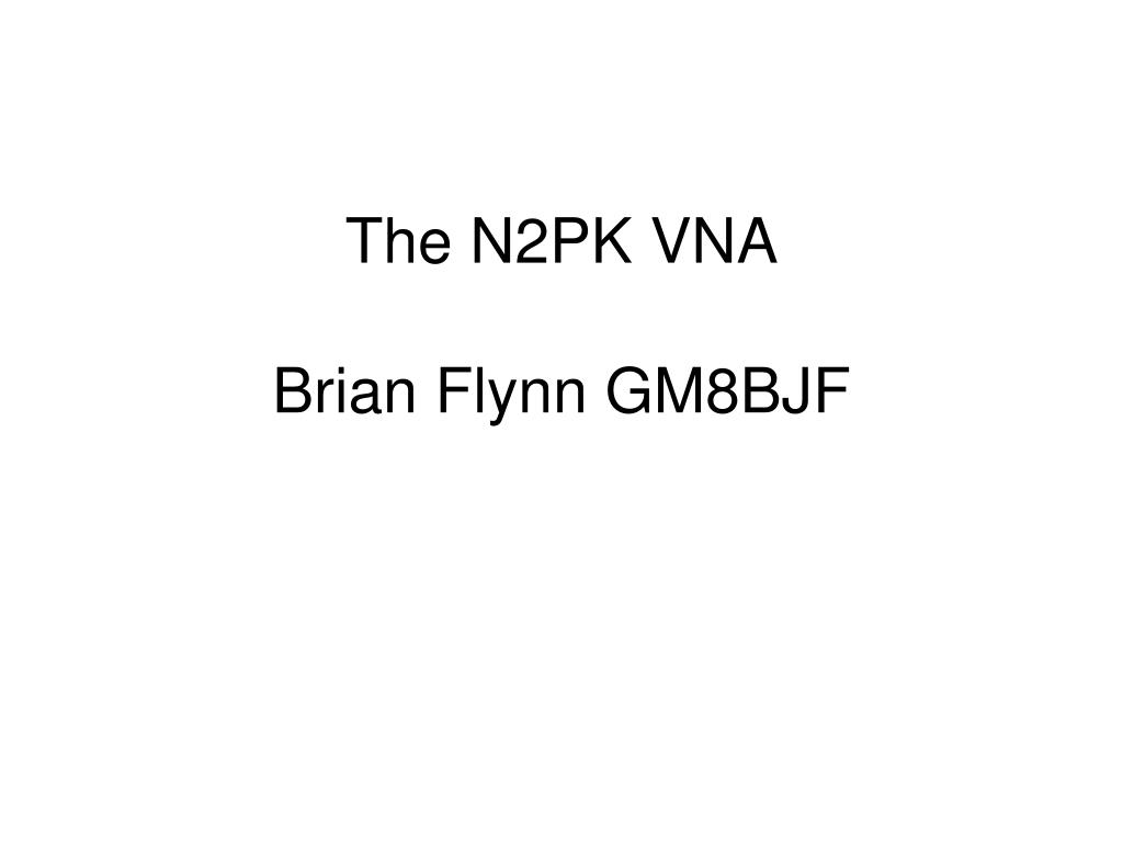 the n2pk vna brian flynn gm8bjf l.