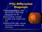 ptc differential diagnosis23