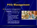 ptc management36