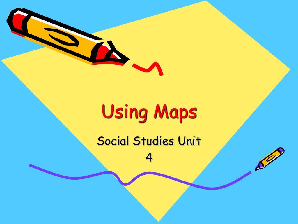 using maps l.