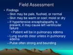 field assessment53