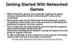 getting started with networked games
