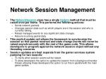 network session management