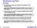 flashback log files dumps38