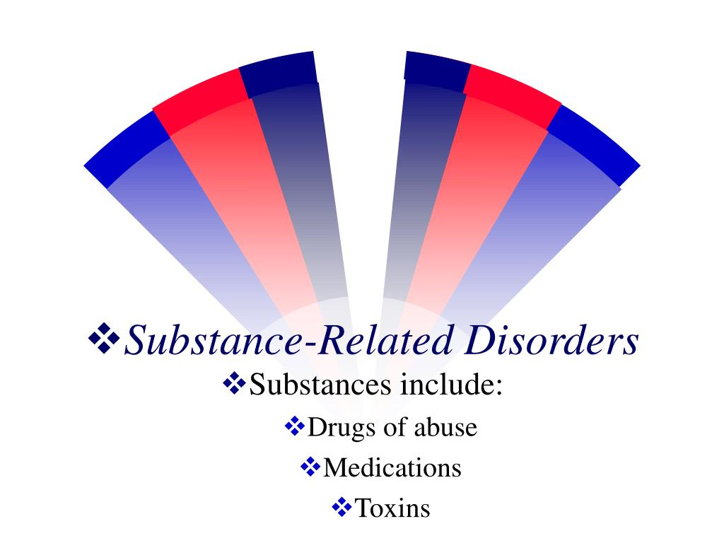 substance related disorders l.