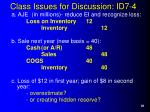 class issues for discussion id7 4