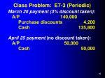 class problem e7 3 periodic15