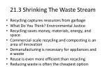 21 3 shrinking the waste stream