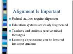 alignment is important8