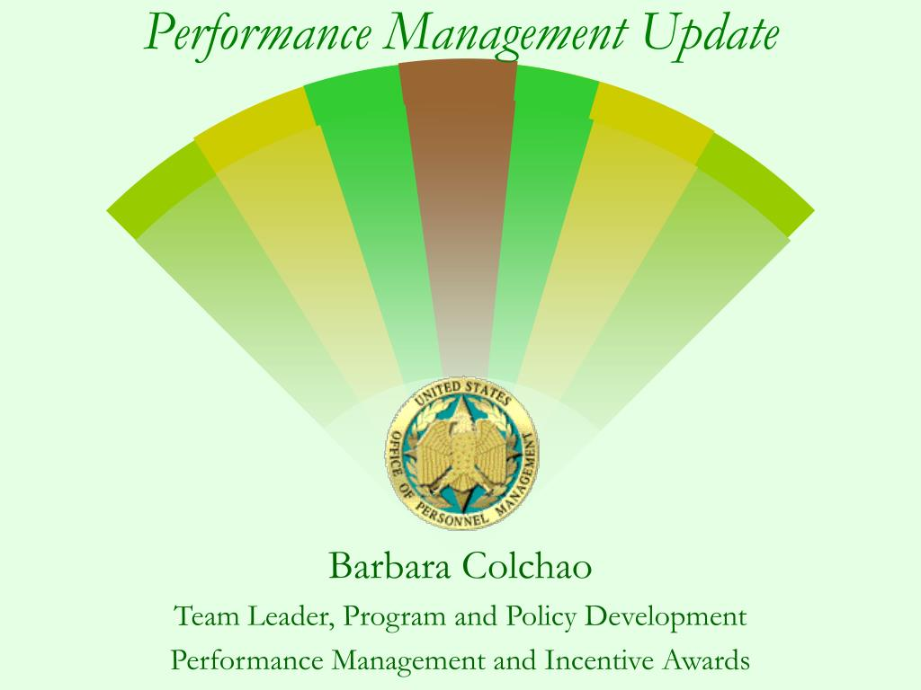 performance management update l.