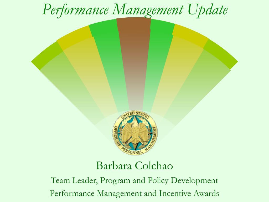 performance management update l.