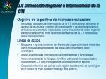 3 6 dimensi n regional e internacional de la cti30