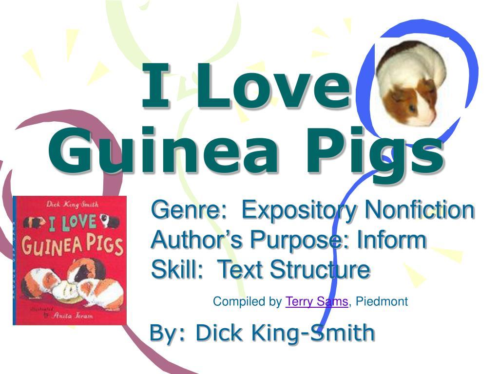 i love guinea pigs l.