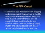 the ffa creed24
