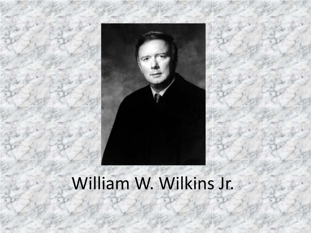 william w wilkins jr l.