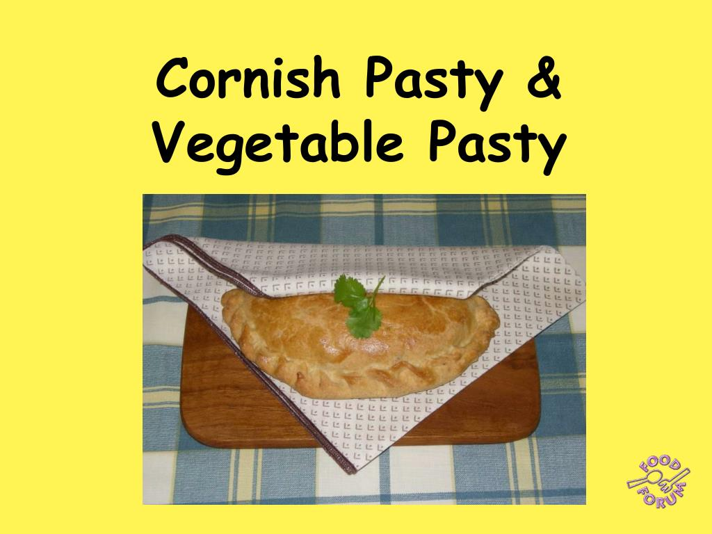 cornish pasty vegetable pasty l.