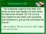 ephesians 5 28