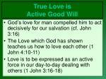 true love is active good will6