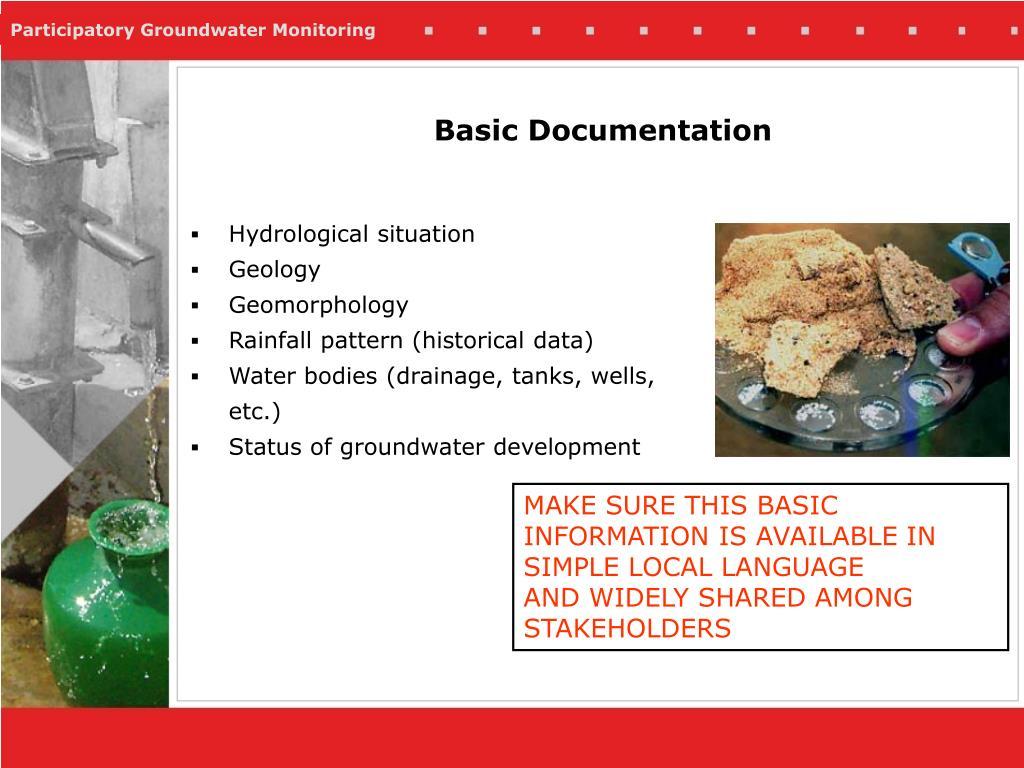 Basic Documentation