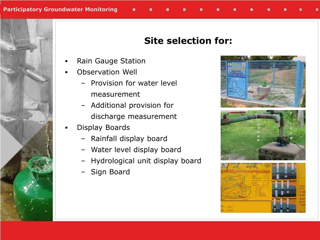 Site selection for: