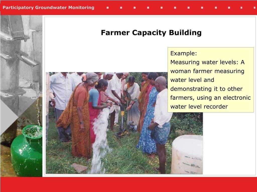 Farmer Capacity Building