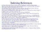 indexing references