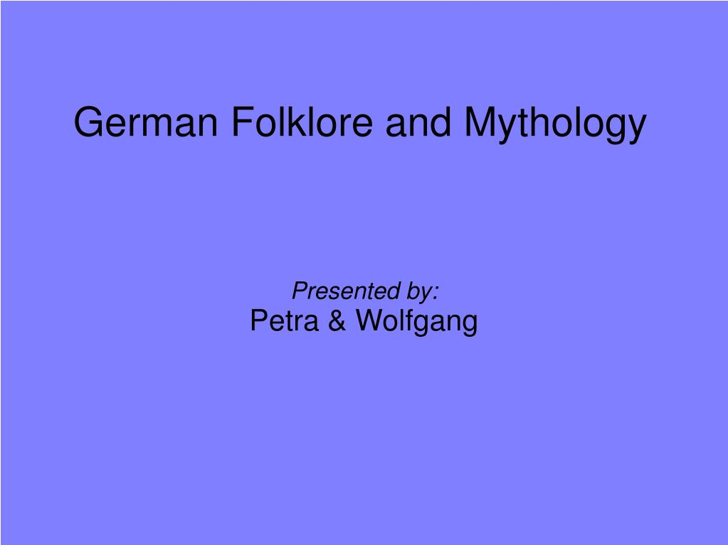 presented by petra wolfgang l.