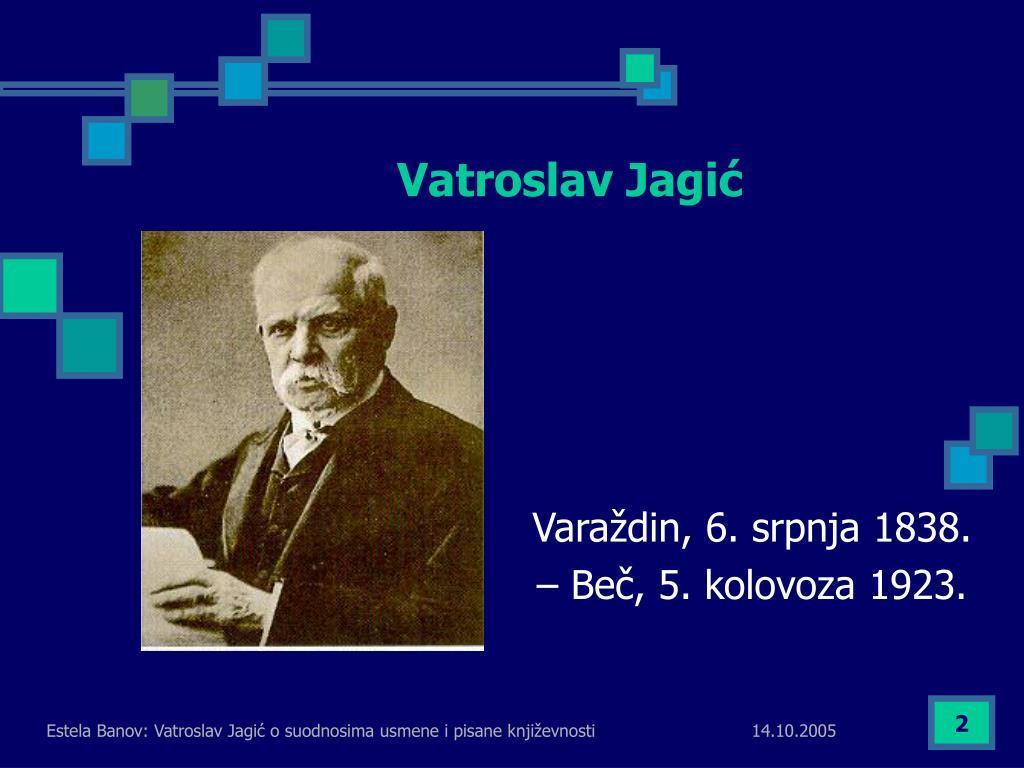 Vatroslav Jagić