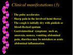 clinical manifestations 3