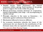 basic concept of takaful