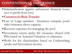 conventional insurance