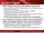 gap in islamic finance