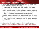 opportunities general takaful