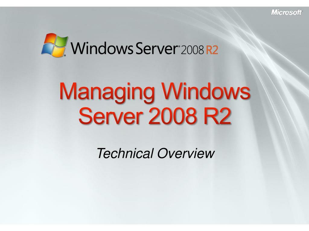 managing windows server 2008 r2 l.