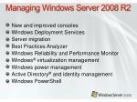 managing windows server 2008 r24