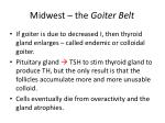 midwest the goiter belt