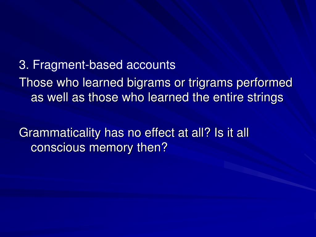 3. Fragment-based accounts
