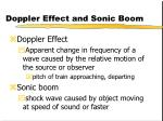 doppler effect and sonic boom