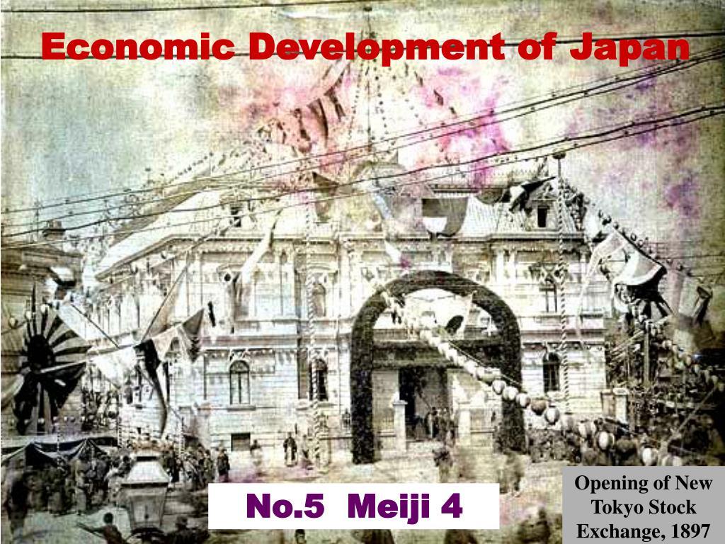 economic development of japan l.