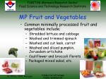 mp fruit and vegetables