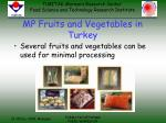 mp fruits and vegetables in turkey