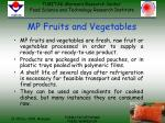 mp fruits and vegetables